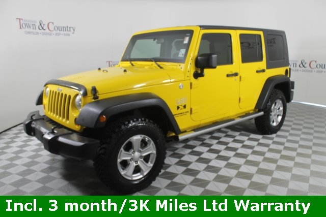 Pre Owned 2009 Jeep Wrangler Unlimited X