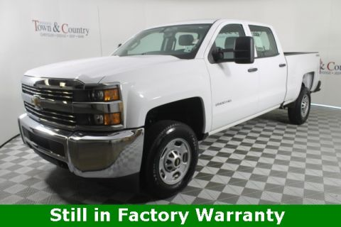 Pre-Owned 2018 Chevrolet Silverado 2500HD Work Truck